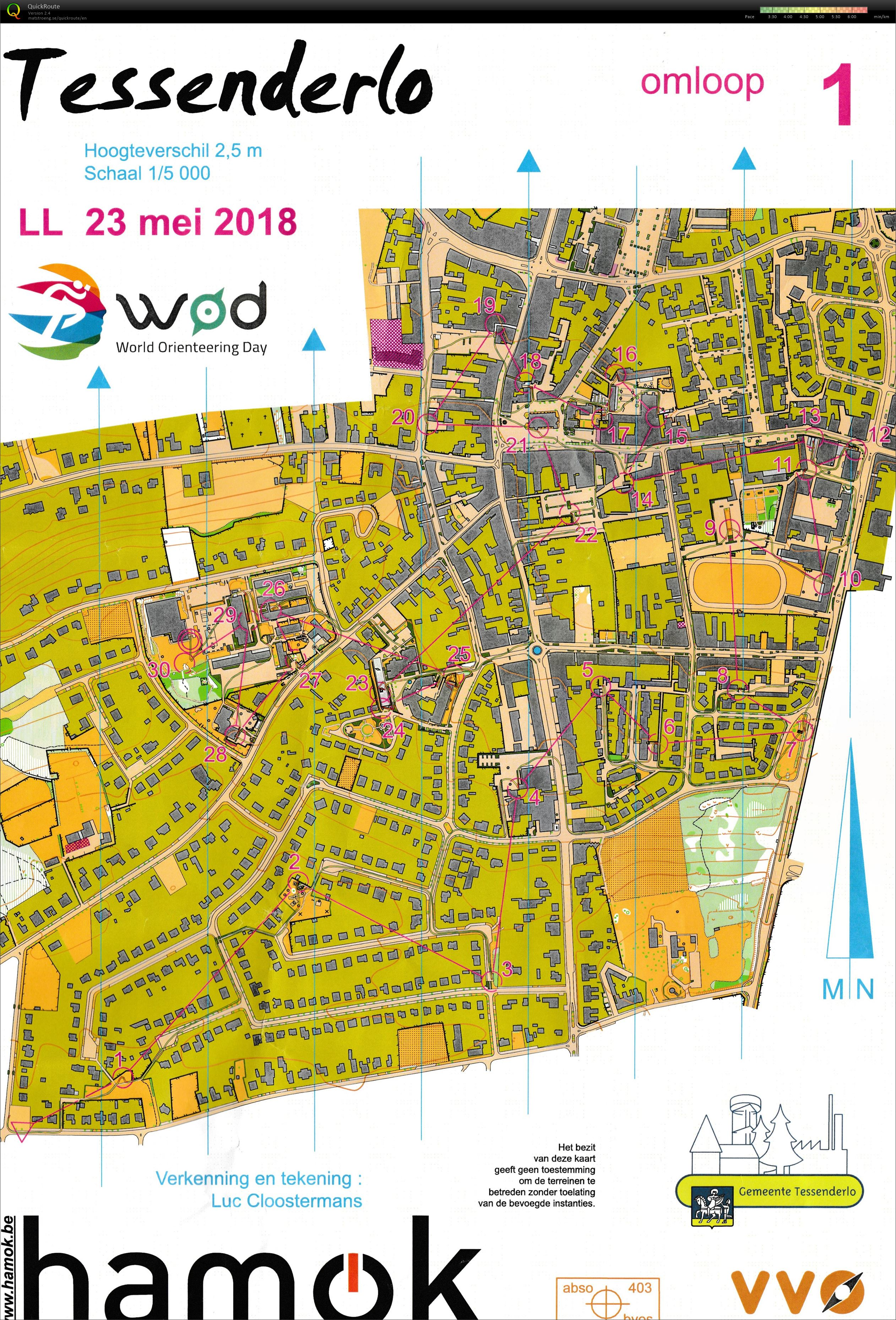 World Orienteering Day (23/05/2018)